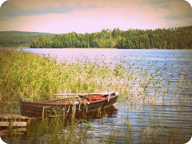 summertime in finland, via Flickr.