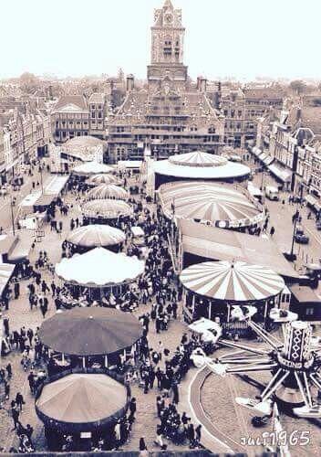 1965 Kersmis op het Marktplein