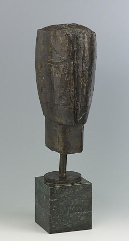 TITLE: Kopf ARTIST: Fritz Wotruba (Austrian, 1907–1975) WORK DATE: 1954