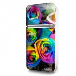 Selbstklebende Kühlschrank Folie