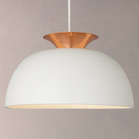 Buy John Lewis Titus Utility Easy-to-Fit Pendant Shade Online at johnlewis.com