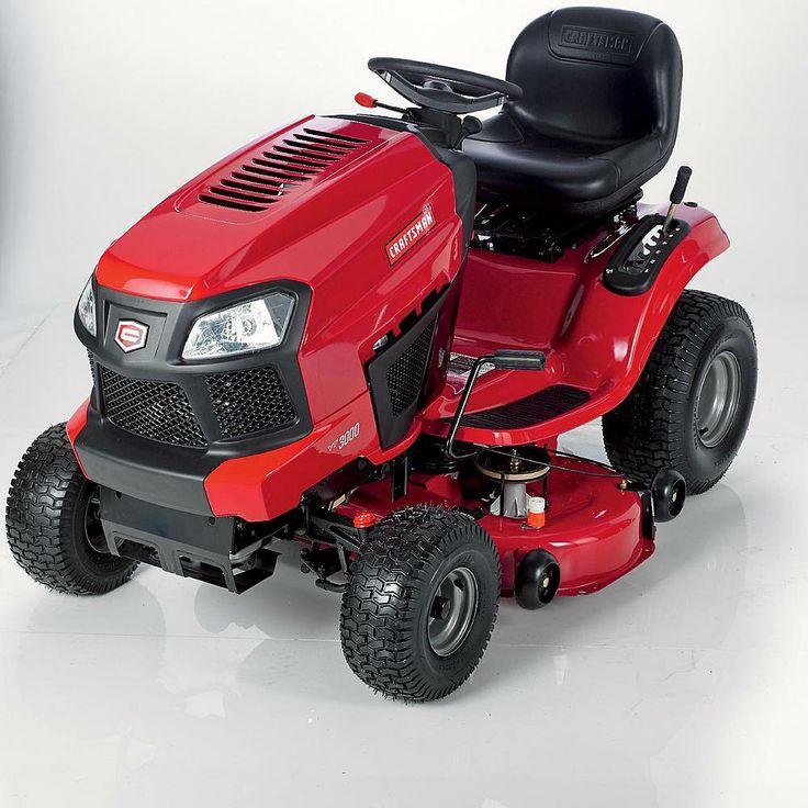 2014 Craftsman T2200 Model 20381 42 in Hydro 19hp Yard Tractor Review - 540cc Single Briggs Platinum - TodaysMower.com