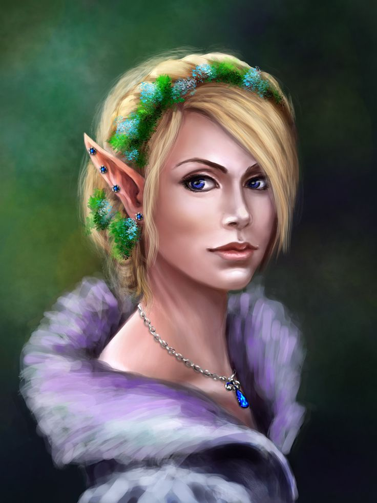 Elf by Kceon on DeviantArt
