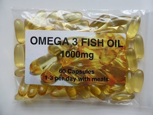 From 2.30 The Vitamin Omega 3 Fish Oil 1000mg (60 Capsules - Bagged)