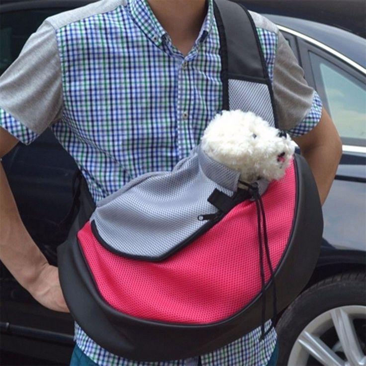 Pet Dog Cat Puppy Carrier Comfort Bag Tote Shoulder Travel Sling Backpack S/M/L