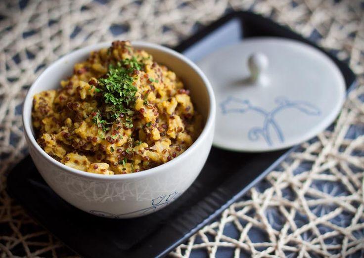 """Microwavable"" Quinoa and Basmati Pilaf | Manifest Vegan"