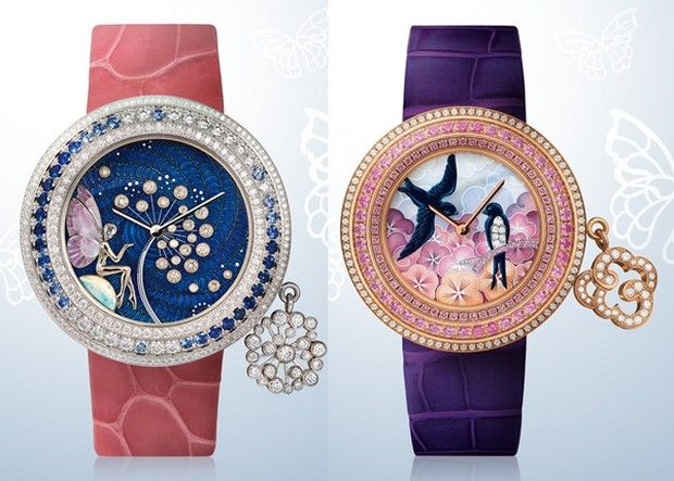 These are so beautiful, like pieces of wearable art   Van Cleef & Arpels colección Extraordinaire Charms