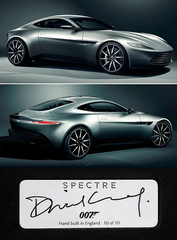 "✨ James Bond's ""Spectre"" Aston Martin DB10"