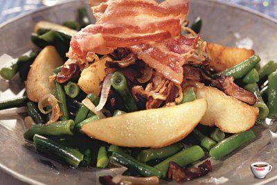 Как приготовить теплый картофельный салат с грибами? Пошаговый рецепт с фото
