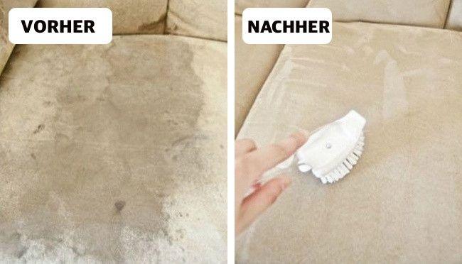 Es ist bekannt, dass viele Reinigungsmittel mehr schaden können, als man denkt. Leider ist es aber fast unmöglich, vollständig auf Haushaltschemikalien zu verzichten. Du kannst aber versuchen, die verwendeten Chemikalien zu reduzieren. Wir haben hier einige tolle Tipps, wie man Haus oder Wohnung mit Produkten, welche man fast immer in der Küche hat, reinigen kann.  Badezimmer-Fliesen  Quelle: Fanpage Du brauchst: 1/4 Glas von Wasserstoffperoxid 1 Esslöffel flüssige Seife 1/2 Glas W...