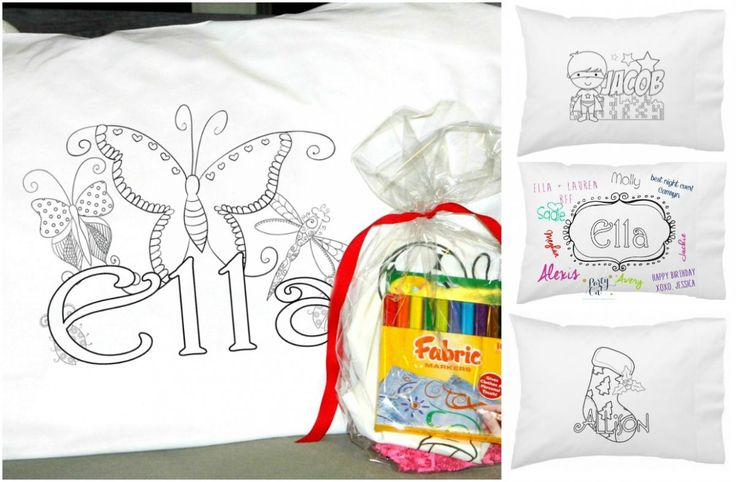Personalized Color On Pillowcases - $8.99!