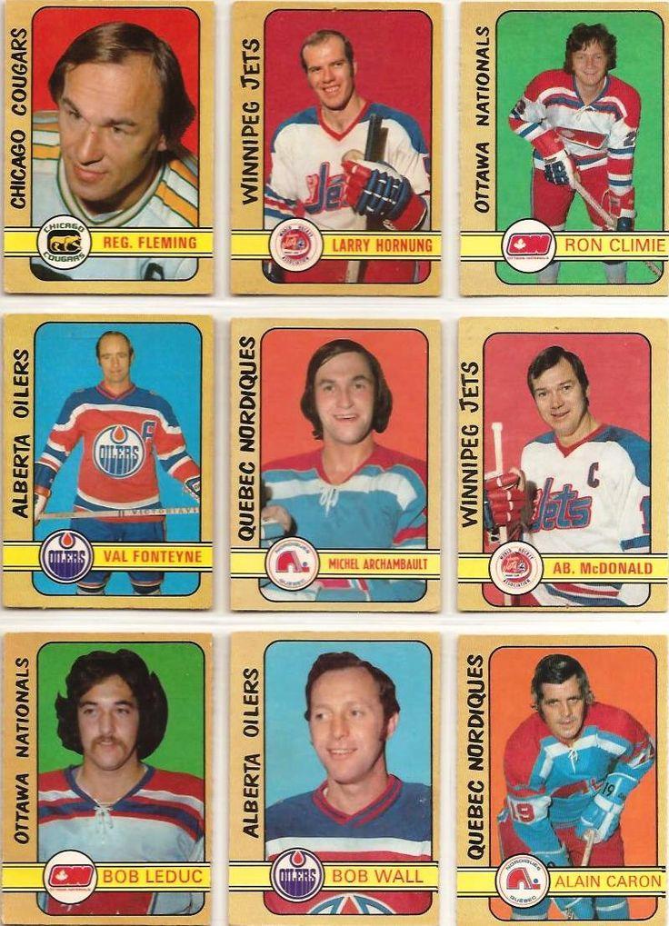 316-324 Reg Fleming, Larry Hornung, Rom Climie, Val Fonteyne, Michel Archambault, Ab McDonald, Bob Leduc, Bob Wall, Alain Caron