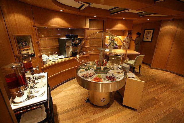 Eurodam's Neptune Lounge. Picture yourself here..........