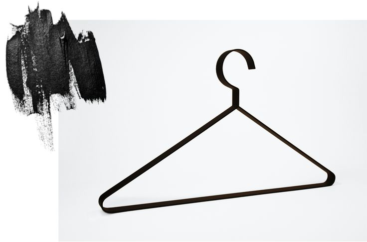 Hanger.37 in charcoal black by Dalili design