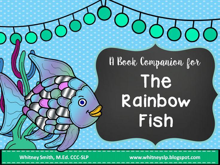 Rainbow fish story book companion rainbow fish story for Rainbow fish story