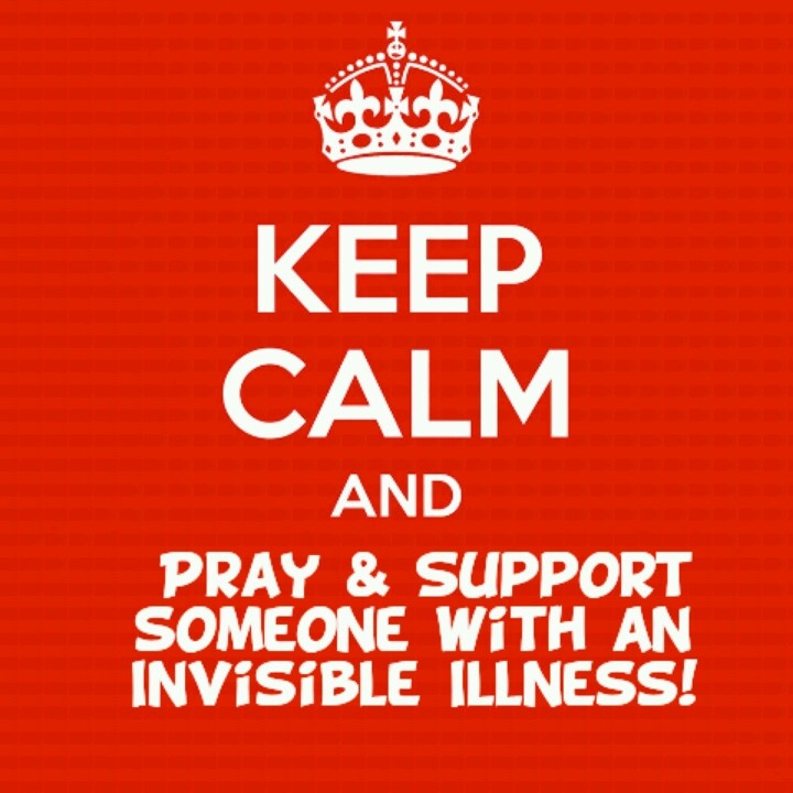 Created for our FB page -  Strength in Our Weakness: Invisible Illness Prayer and Support Page