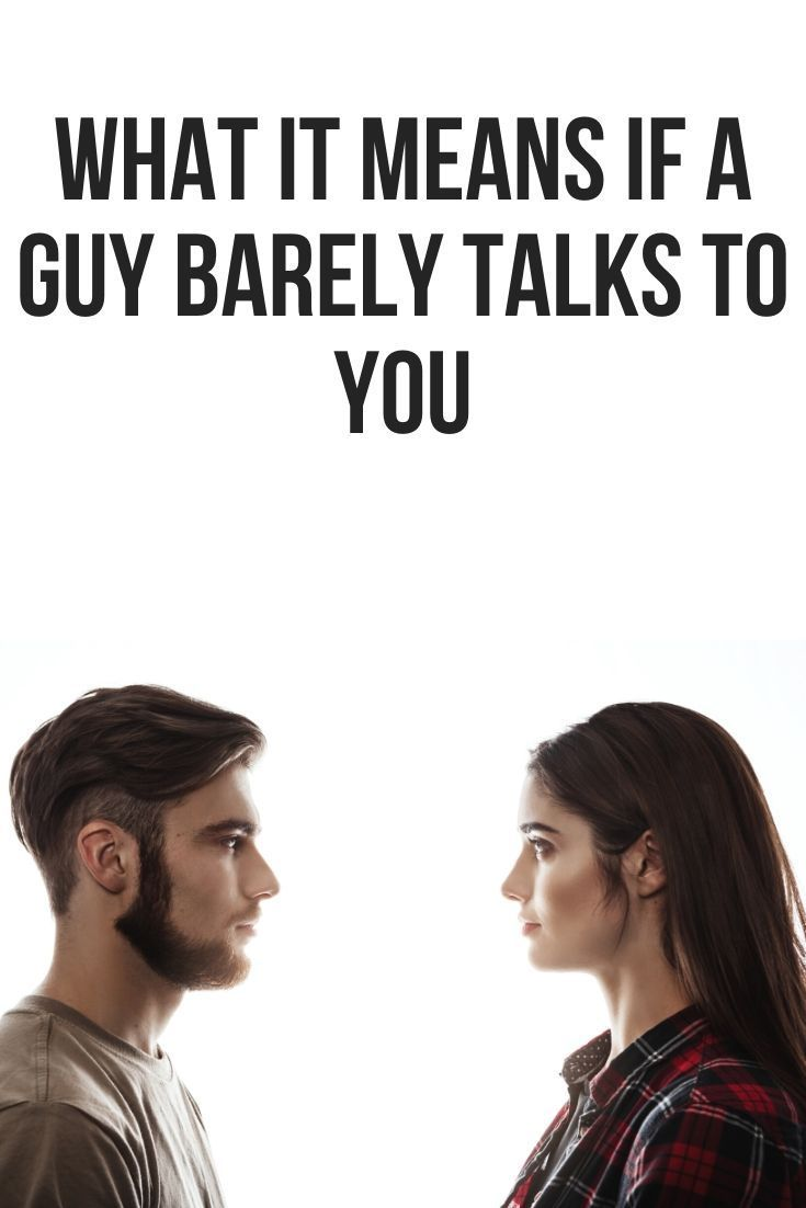 This post will show you what it means when a guy barely