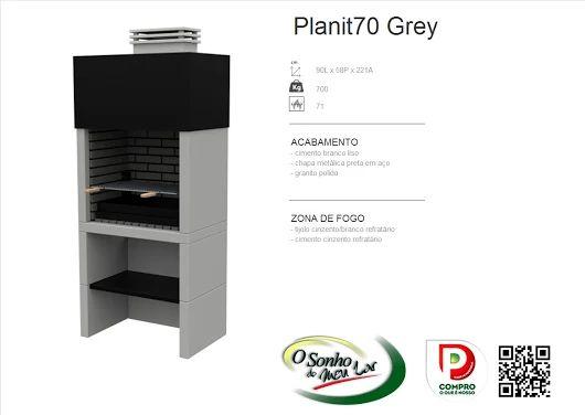 Churrasqueira Modelo  PLANIT70 GREY
