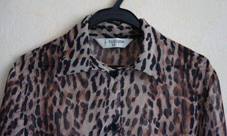 Леопардовая рубашка купить в минске