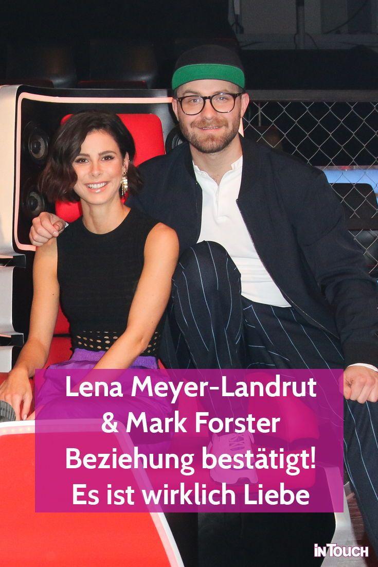 Lena Meyer Landrut Mark Forster Beziehung Bestatigt Es Ist Wirklich Liebe Lena Meyer Landrut Mark Forster Lena
