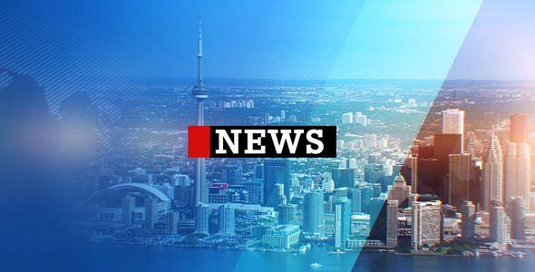 Broadcast News Pack 5 | Channel Branding Templates | Pinterest ...