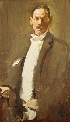 Self-Portrait by  Samuel John Peploe