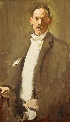 Self-Portrait by  Samuel John Peploe