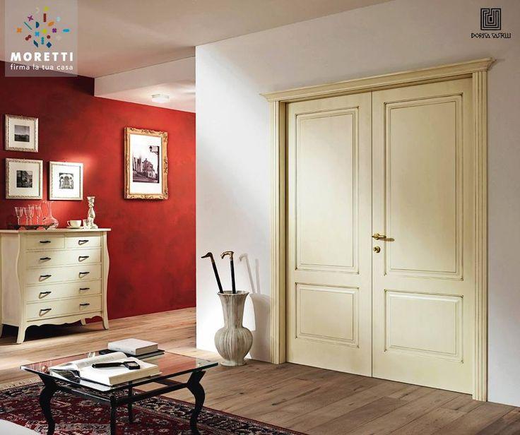 Dorica Castelli esprime un concetto molto elegante di #porta, ma al tempo stesso moderno e amico della natura, grazie all'utilizzo di vernici a basso impatto ambientale. Scopritela sul nostro sito: http://www.morettipavimenti.com/dorica-castelli/