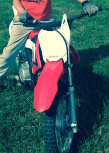 Children's Quad Bikes and Motor Bikes One of two child's Honda bikes stolen along with 4 pink child's quad bikes.  Do you know where they are?