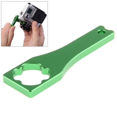 [$1.82] Metal Screw Rod Power Wrench Screw Cap Wrench Tools for GoPro Hero 4 / 3+ / 3 / 2 / 1(Green)