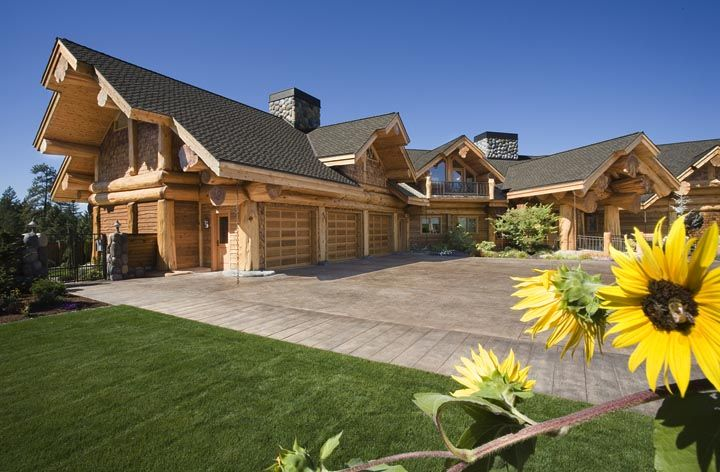grants pass home pioneer log homes of bc loghome customloghome luxuryloghome log post. Black Bedroom Furniture Sets. Home Design Ideas