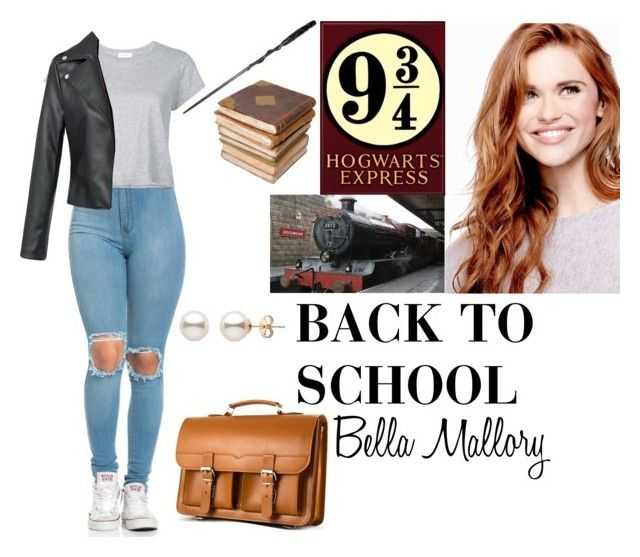 """Back to school"" by ateliana on Polyvore featuring RE/DONE and Ceramiche Pugi"