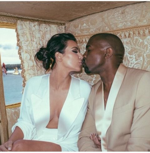 Kim Kardashian and Kanye West's Cute Family | Photo 1 | TMZ.com