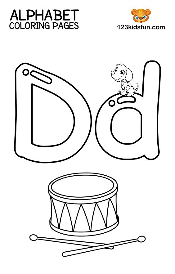 Free Printable Alphabet Coloring Pages For Kids 123 Kids Fun Apps Alphabet  Coloring Pages, Alphabet Coloring, Alphabet Printables