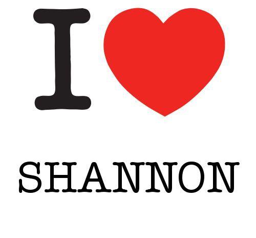 I Heart Shannon #love #heart