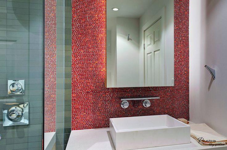 Красивый дизайн плитки в ванной комнате: стильные примеры отделки стен и пола
