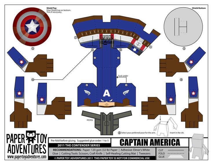 Paper Toys | Papertoy | The Avengers (Os Vingadores)
