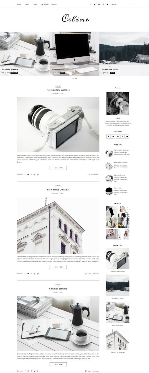 53 best Blogger Templates images on Pinterest | Blogger templates ...