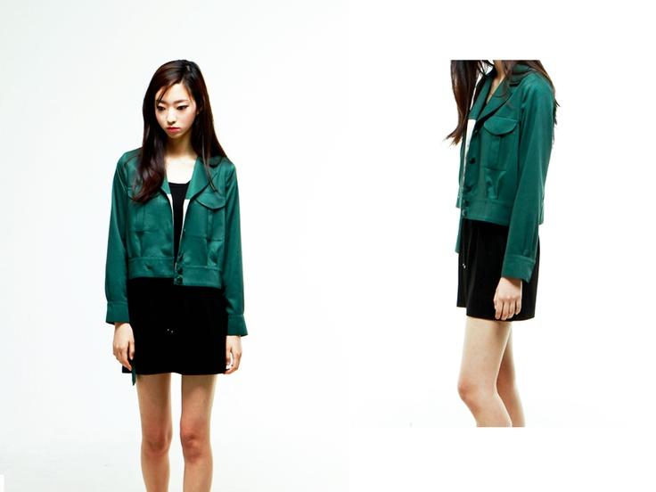 al,thing - Military short jacket