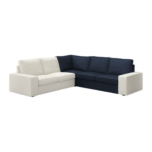 KIVIK Module d'angle - Orrsta bleu foncé - IKEA