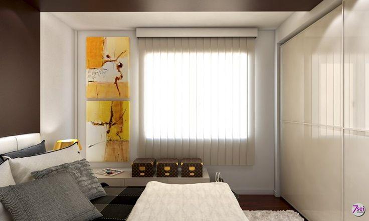 Bedroom, Cagliari, 2015 - Studio7sei arredatori d'interni