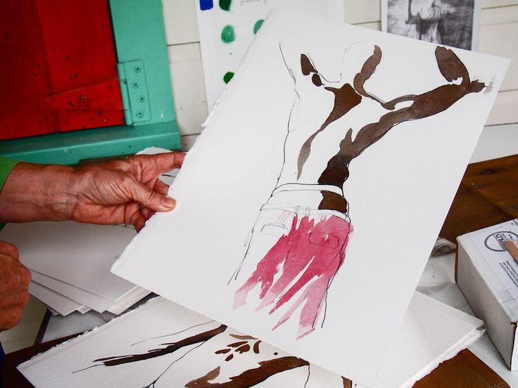 Sallie Harker, a Caribbean artist