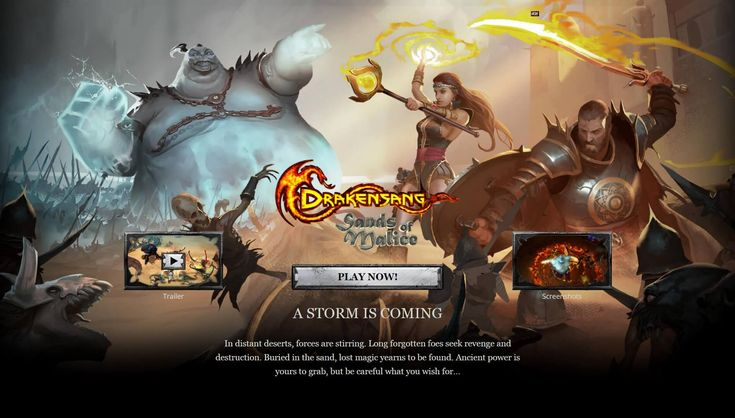 Drakensang Online is a F2P browser based MMORPG with 3D graphics and hack'n'slash features.