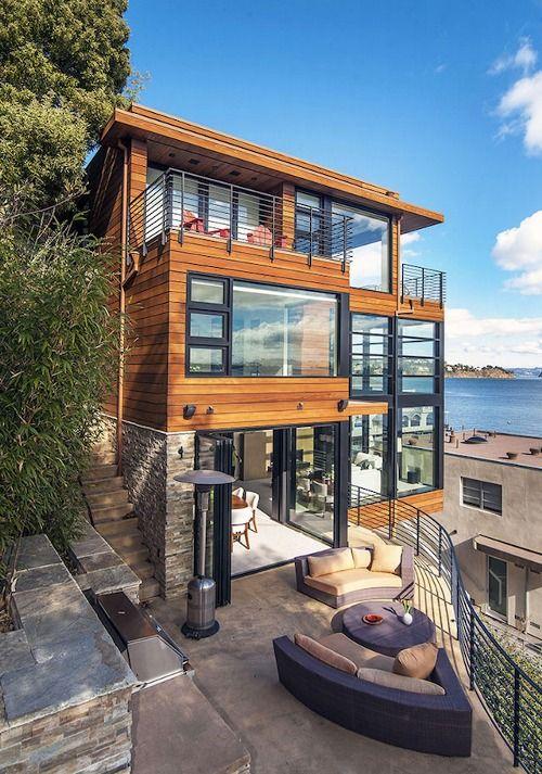 Arquitetura contemporânea que contempla a natureza!