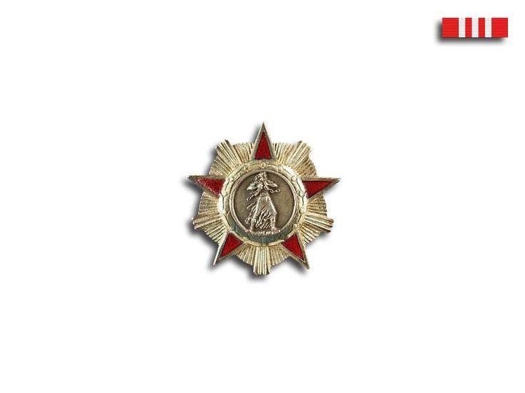 People's Socialist Republic of Albania - Order of Freedom (Urdhëri i Lirisë), 3rd class