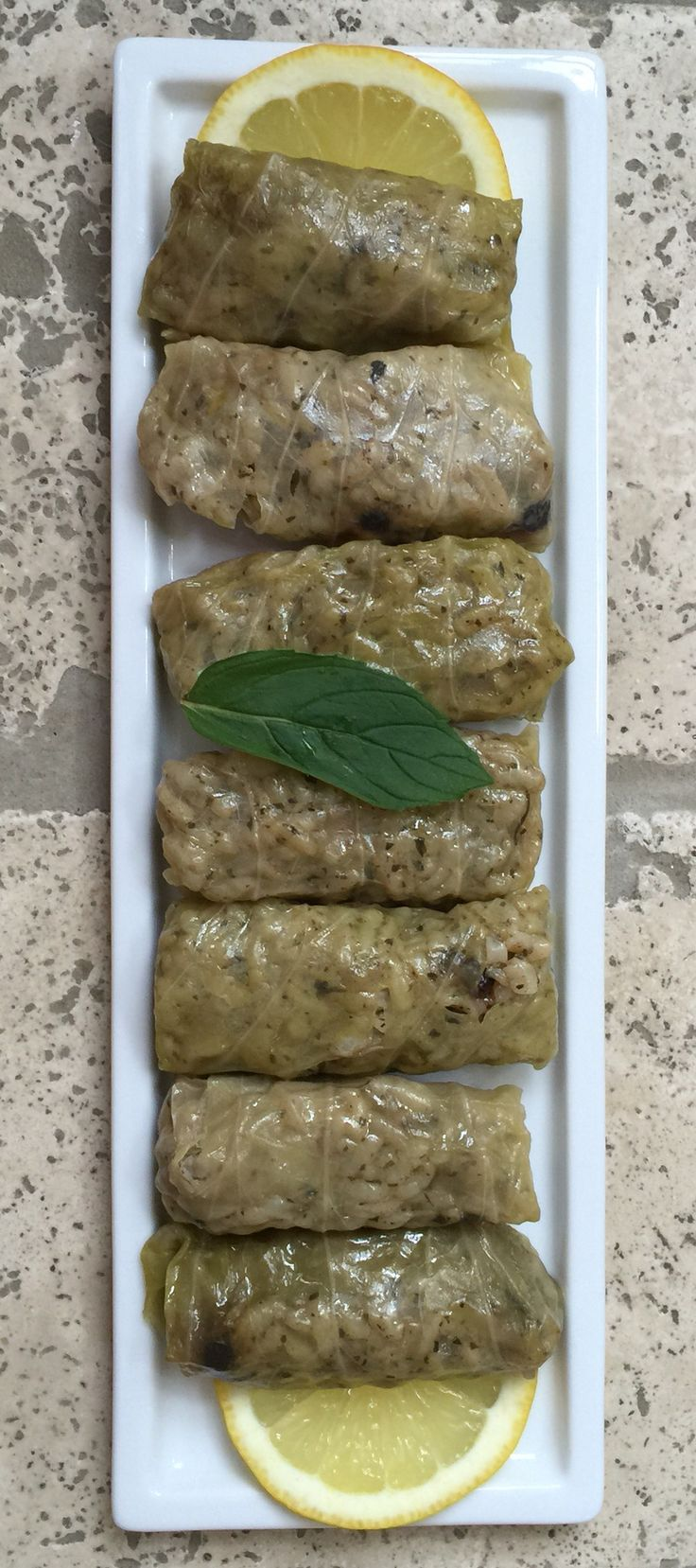 Zeytinyağlı Lahana Sarma - Turkish Kitchen