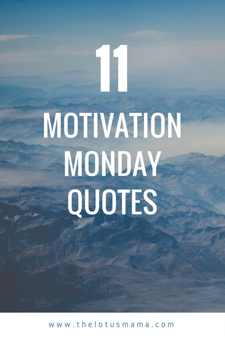 Best 25+ Motivational monday quotes ideas on Pinterest ...