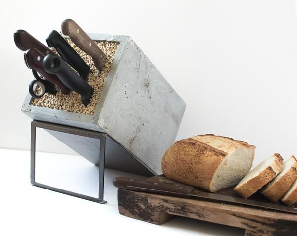 Design Deconstructed | Konkret Knife Block