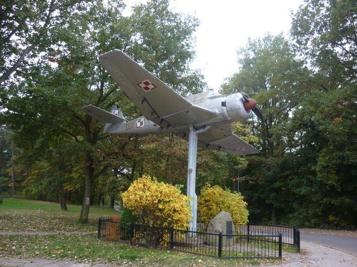 Pomnik Lotników, Babie Doły.