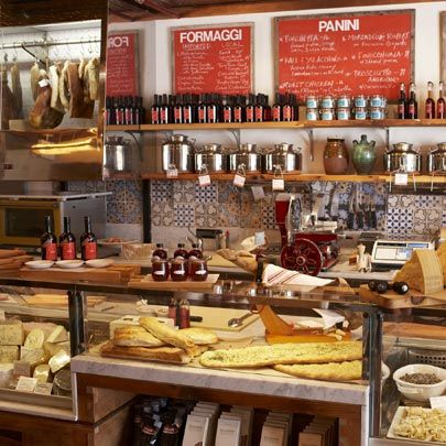 Il Buco Alimentari and Vineria - a market, salumeria, bakery and enoteca, photo posted by Tasting Table